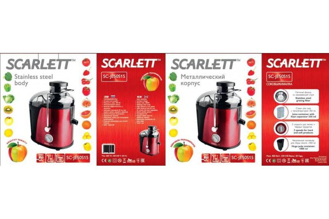 Scarlett SC - JE50S15 červený