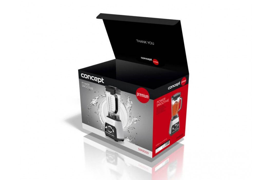 Concept Premium Line SM8000 nerez