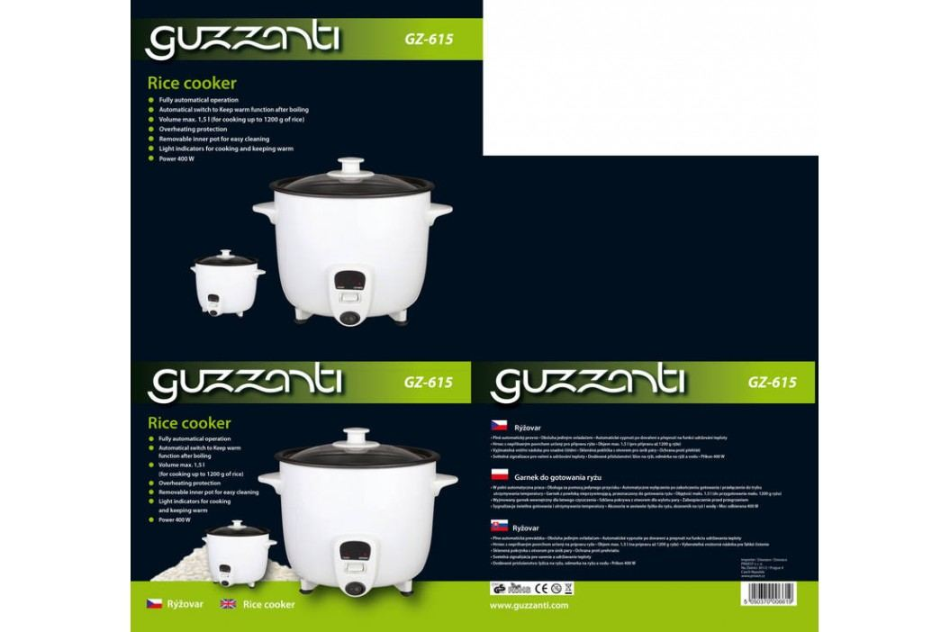 Guzzanti GZ 615 biely