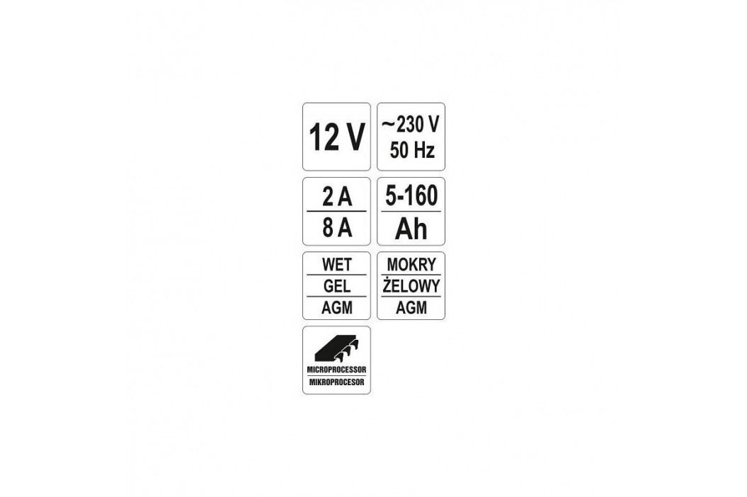YATO elektronická s mikroprocesorem