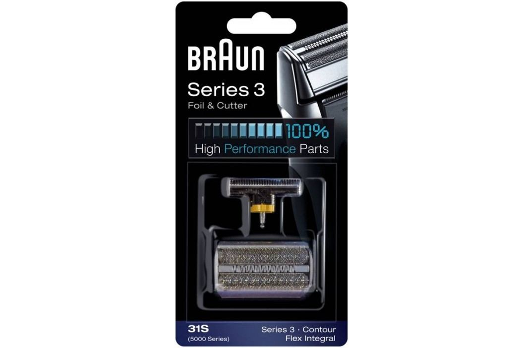 Braun CombiPack FlexIntegral - 31S strieborné