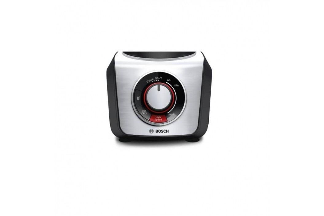 Bosch SilentMixx Pro MMB66G3M čierny/strieborný