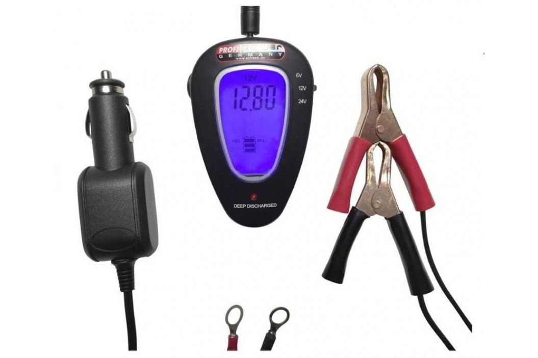 Tester autobaterie Profi Power 6/12/24 V