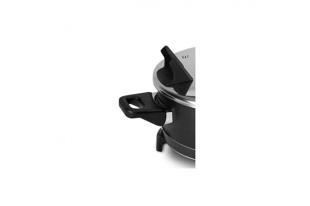 Remoska Grand R22 čierna/nerez