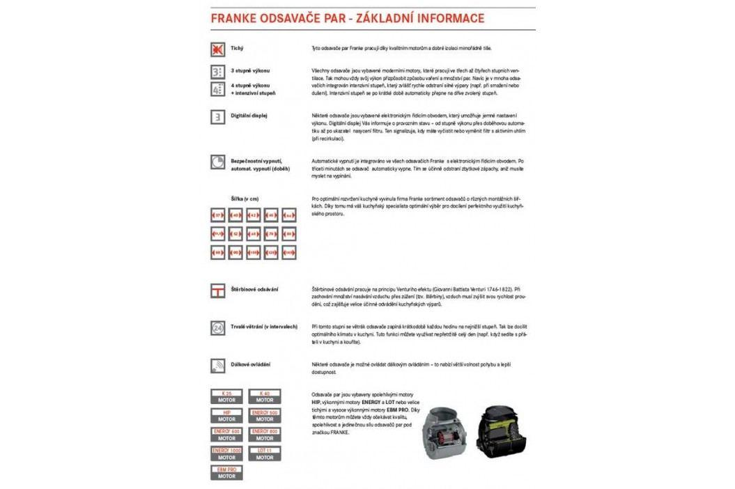 Franke FGC 906 I XS nerez/sklo