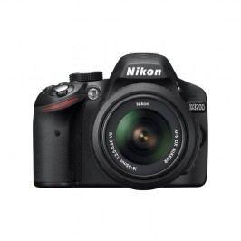 Nikon D3200 + 18-55 AF-S DX VR II, stabilizovaný objektív čierny