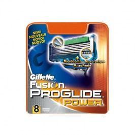 Náhradné hlavice Gillette Fusion Proglide Power 8ks