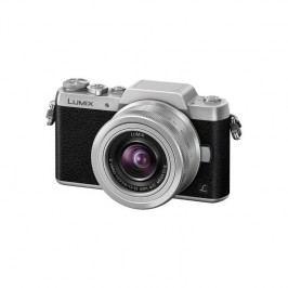 Panasonic Lumix DMC-GF7KEG-S + objektiv 12-32 mm čierny/strieborný