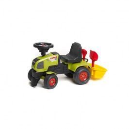 FALK - traktor Claas Axos 310 s volantem a přívěsným košem plast