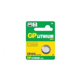 GP LITHI, 3V, 42mAh (GP CR1616)