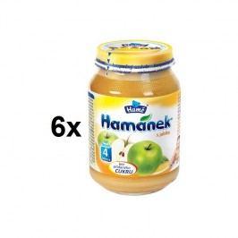 Hamánek DIA s jablky 6x180g