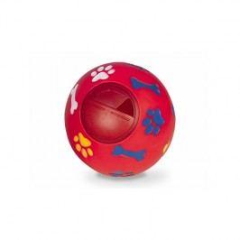Nobby Snack Ball plnitelná 14,5cm červená