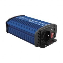 Měnič napětí do auta 12V/230V, 300W, USB 2100mA (N0036)