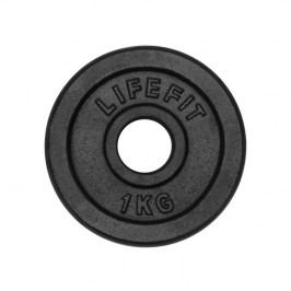 LIFEFIT kovový 1,0kg pro 30mm tyč čierny