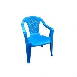 Dětská židlička IPAE plast/modrá