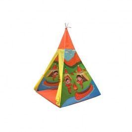 Acra ST09/2 teepee - indiánský motiv žltý/zelený/oranžový