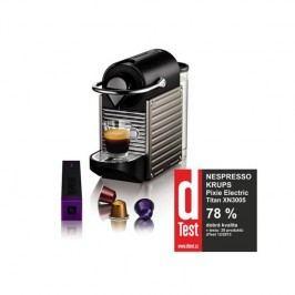 Krups Nespresso Pixie XN3005 čierne/sivé