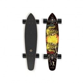 """Street Surfing Kicktail 36"""" Spartans čierny/žltý"""