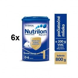 Nutrilon 1 Pronutra Good Sleep 800g x 6ks