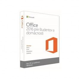 Microsoft Office 2016 SK Home and Student pre 1 PC (79G-04709)