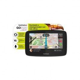 Tomtom GO 520 World, Wi-Fi, LIFETIME mapy (1PN5.002.01) čierna