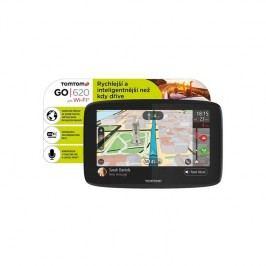 Tomtom GO 620 World, Wi-Fi, LIFETIME mapy (1PN6.002.01) čierna