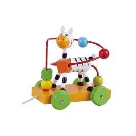 Jezdící interaktivní hračka Sun Baby, zebra