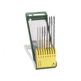 Sada Bosch 8 dielna kazeta pílových listov na drevo / kov / plast (T-stopka)
