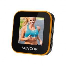 Sencor SFP 6070 SPORT CLIP, 8GB (35047833) čierny/oranžový