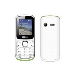 MaxCom Classic MM129 Dual SIM (MM129WHDS) biely/zelený