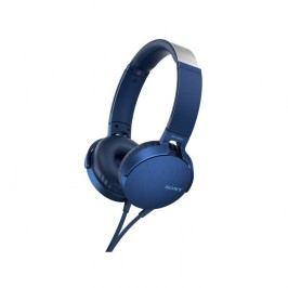 Sony MDR-XB550AP Extra Bass™ (MDRXB550APL.CE7) modrá