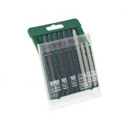 Sada pílových plátkov Bosch 10 dielna drevo / kov / plast (T-stopka)