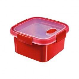 Curver Smart Microwave 1,1 l červený