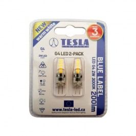 Tesla bodová, 2W, G4, teplá bílá (2ks) (G4000230-5PACK)