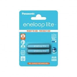 Panasonic Eneloop Lite AAA, 550mAh, 2 ks (BK-4LCCE/2BE) tyrkysová