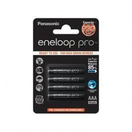 Panasonic Eneloop Pro AAA, 930mAh, 4 ks (BK-4HCDE/4BE) čierna