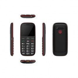 CUBE 1 F100 Dual SIM (F100) čierny/červený
