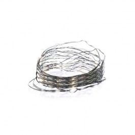 EMOS 150 LED, 15m, řetěz zelený (miniaturní), teplá bílá, časovač, i venkovní použití (1534191700)
