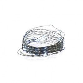 EMOS 150 LED, 15m, řetěz zelený (miniaturní), studená bílá, časovač, i venkovní použití (1534191400)