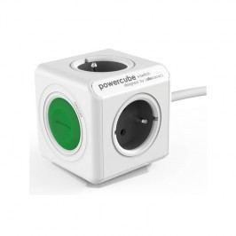 Powercube Extended Switch, 4x zásuvka (8719186004253) sivý/biely/zelený