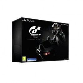 Sony PlayStation 4 Gran Turismo Sport + Digitální bonusový balíček + zlatá SteelBook krabička + Model Mercedes Benz AMG GT + Brožura (PS719879855)