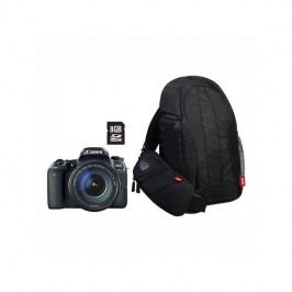 Canon EOS 77D + 18-135 IS USM Value Up Kit (1892C034) čierny