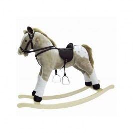 Houpací kůň Bino Puntík - plyš, p+z, maxi