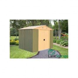 Konstrukce zahradního domku Lanitplast Lanit Storage 10x12 (1.část) - pouze konstrukce bez obvodových plechů