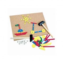 Hra s kladívkem BINO - 229 dílků