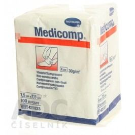 MEDICOMP NEST. 7,5X7,5CM 100KS