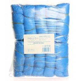 Návlek na obuv modrý z PVC 100ks