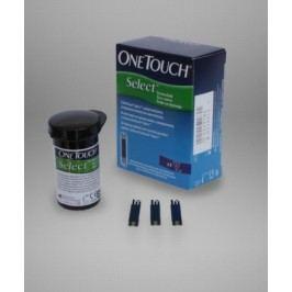 One Touch select testovacie prúžky 50 ks
