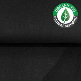 Teplákovina BIO black