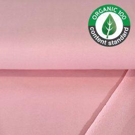 Teplákovina BIO light pink